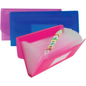 C-Line Products 13-Pocket Junior Size Expanding File - Pkg Qty 6