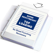 C-Line Products Super Heavyweight Polypropylene Sheet Protector, Clear, 11 x 8 1/2, 50/BX