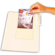 C-Line Products Peel & Stick Photo Holders, Clear, 4 x 6, 10/PK - Pkg Qty 5