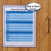 C-Line Products Self-Adhesive Shop Ticket Holder, 9 x 12, 50/BX