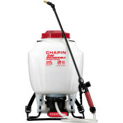 Chapin 63924 4 Gallon Cap. 24V Battery Operated Wide Mouth General Purpose No Pump Backpack Sprayer