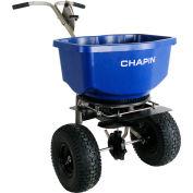 Chapin 100 Lb. Capacity Professional Rock Salt & Ice Melt Spreader - Baffles, Gate & Rain Cover
