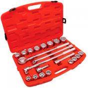 21 Piece Mechanics Tool Sets, COOPER HAND TOOLS CRESCENT CTK21SAE