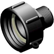 """S60x6 Female Buttress x 1"""" Male BSP Pipe Thread Adapter"""