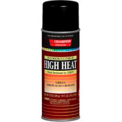 Champion Sprayon® High Heat Black Spray Paint 6 Cans/Case - 419-0981