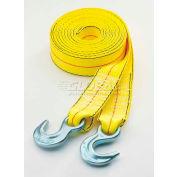 "Highland® Tow Strap - 2"" x 30' W/Hooks 1Pk, 1017700"