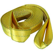 "Highland® Reflective Tow Strap - 2"" x 20' W/Loops & Mesh Bag, 1018300"
