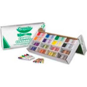 Crayola® Large Size Crayons and Markers Combo Classpack, 8 Colors, 256 Pcs/Box