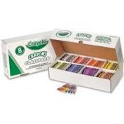 Crayola® Crayons Classpack, 8 Colors, 800/Box