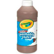 Crayola® Washable Paint, Nontoxic, 16 oz., Brown