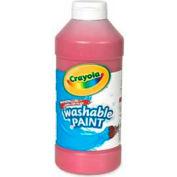 Crayola® Washable Paint, Nontoxic, 16 oz., Red