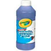 Crayola® Washable Paint, Nontoxic, 16 oz., Blue