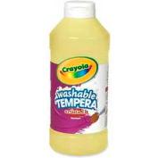Crayola® Artista II® Washable Tempera Paint, Nontoxic, 16 oz., Yellow