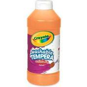 Crayola® Artista II® Washable Tempera Paint, Nontoxic, 16 oz., Orange
