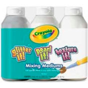 Crayola® Mixing Medium Paint Variety Pack, 8 fl. oz., Assorted, 3/Pack