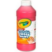 Crayola® Washable Finger Paint, Nontoxic, 16 oz., Red