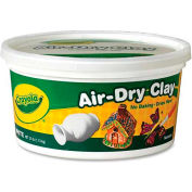 Crayola® Air-Dry Clay, 2.5 lb. Bucket, White, 1 Each