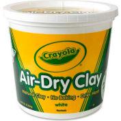Crayola® Air-Dry Clay, 5 lb. Bucket, White, 1 Each