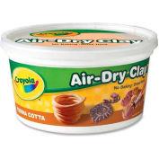 Crayola® Clay, Air Dry, 2.5 lb. Tub, Terra Cotta, 1 Each