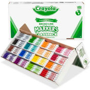 Crayola® Markers Classpack, Broad Line, 16 Assorted Colors, 256/Box