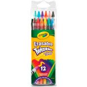 Crayola® Erasable Twistable Color Pencils, Nontoxic, Assorted, 12/Pack