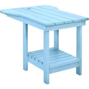 "Generations Tete A Tete Table, Sky Blue, 18""L x 14""W x 21""H"