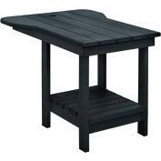 "Generations Tete A Tete Table, Black, 18""L x 14""W x 21""H"
