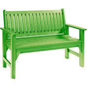 "Generations Garden Bench, Kiwi Lime, 46""L x 20-1/2""W x 36""H"