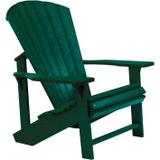 """Generations Adirondack Chair, Green, 32""""L x 31""""W x 40-1/2""""H"""