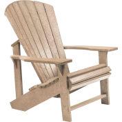"""Generations Adirondack Chair, Beige, 32""""L x 31""""W x 40-1/2""""H"""