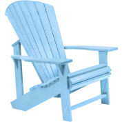 """Generations Adirondack Chair, Sky Blue, 32""""L x 31""""W x 40-1/2""""H"""
