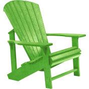 """Generations Adirondack Chair, Kiwi Lime, 32""""L x 31""""W x 40-1/2""""H"""