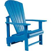 """Generations Upright Adirondack Chair, Blue, 27""""L x 31""""W x 44""""H"""
