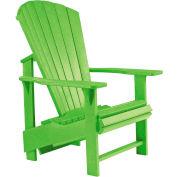 """Generations Upright Adirondack Chair, Kiwi Lime, 27""""L x 31""""W x 44""""H"""