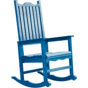 "Generations Casual Porch Rocker, Blue, 31""L x 25""W x 47""H"