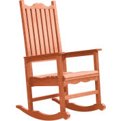 "Generations Casual Porch Rocker, Cedar, 31""L x 25""W x 47""H"