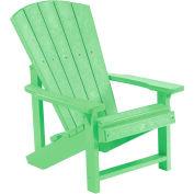 "Generations Kids Adirondack Chair, Lime Green, 24""L x 20""W x 27""H"