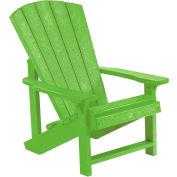 """Generations Kids Adirondack Chair, Kiwi Lime, 24""""L x 20""""W x 27""""H"""