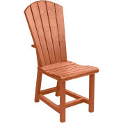 "Generations Dining Adirondack Style Side Chair, Cedar, 19""L x 17""W x 40""H"