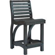 """St Tropez Counter Chair, Black, 21""""L x 18""""W x 39""""H"""