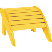 "Generations Footstool, Yellow, 18""L x 17""W x 12""H"