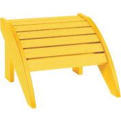 """Generations Footstool, Yellow, 18""""L x 17""""W x 12""""H"""