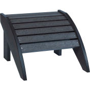 "Generations Footstool, Black, 18""L x 17""W x 12""H"