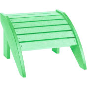 "Generations Footstool, Lime Green, 18""L x 17""W x 12""H"