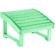 """Generations Upright Adirondack Chair Pull Out Footstool, Lime Green, 32""""L x 22""""W x 14""""H"""