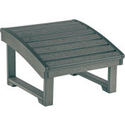 "Generations Upright Adirondack Chair Pull Out Footstool, Slate, 32""L x 22""W x 14""H"