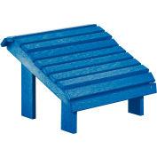 """Generations Premium Footstool, Blue, 18""""L x 18""""W x 16""""H"""