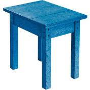 """Generations Small Side Table, Blue, 17""""L x 17""""W x 17""""H"""