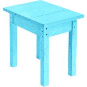 """Generations Small Side Table, Aqua, 17""""L x 17""""W x 17""""H"""