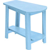"Generations Tapered Style Accent Table, Sky Blue, 29""L x 18-1/2""W x 19""H"